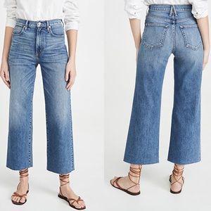 SLVRLAKE Grace Crop Jeans Blue Bird